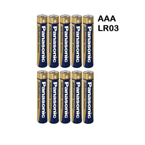 School Alkaline Batteries AAA [Pack 10]