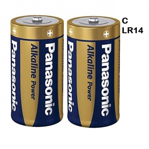 School Alkaline Batteries C [Pack 2]