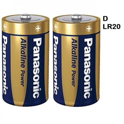 School Alkaline Batteries D [Pack 2]