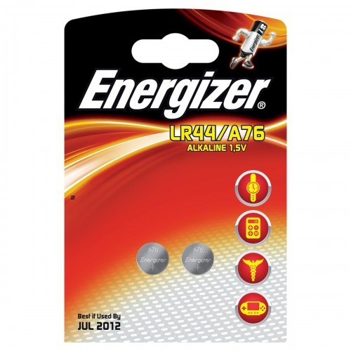 School Batteries Energizer LR44 [Pack 2]