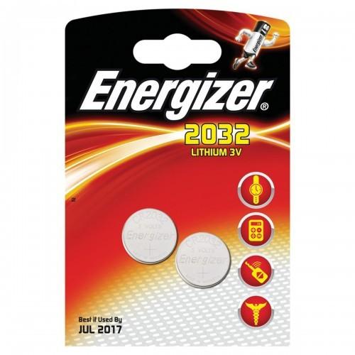 School Batteries Energizer CR2032 [Pack 2]