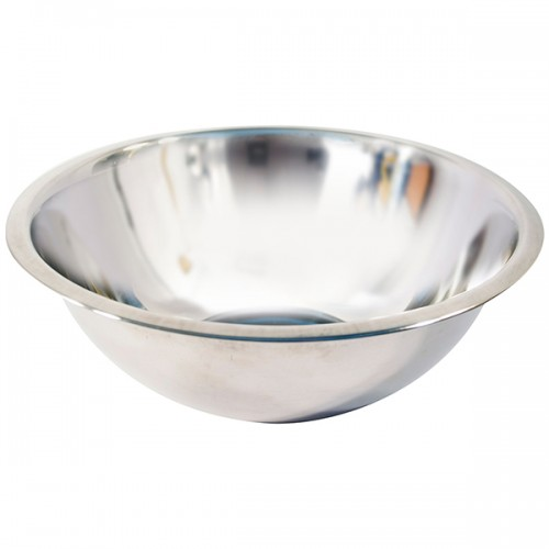 School Stainless Steel Mixing Bowl 4.5 Litre/28cm [Pack 1]