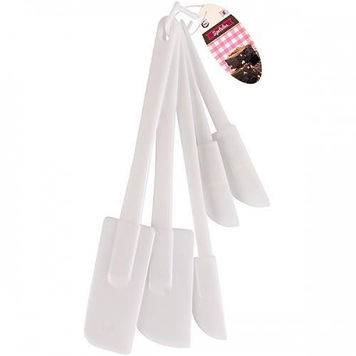 School Spatula Plastic Assorted [Pack 5]