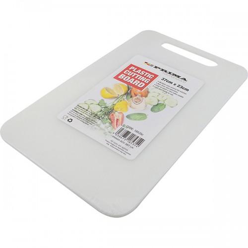 School Chopping Board 370x230mm White [Pack 1]