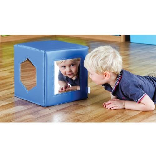 School Mirror Cube Flexible Mirror 300x300x300mm [Pack 1]