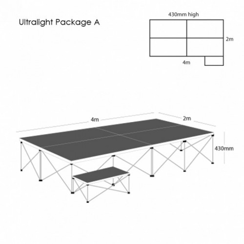 School Ultralight Staging Package A