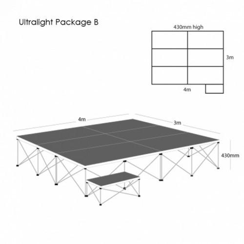 School Ultralight Staging Package B