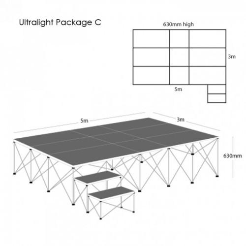 School Ultralight Staging Package C
