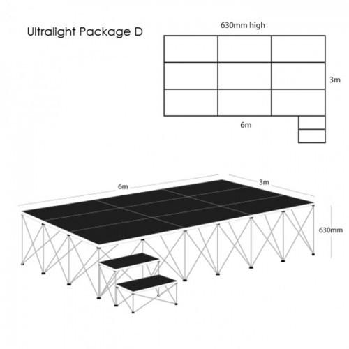 School Ultralight Staging Package D
