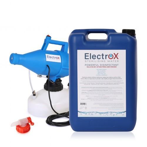School Sterilising & Disinfecting Fogging Machine + 25 Litre Refill + Dispensing Tap [Pack 1]