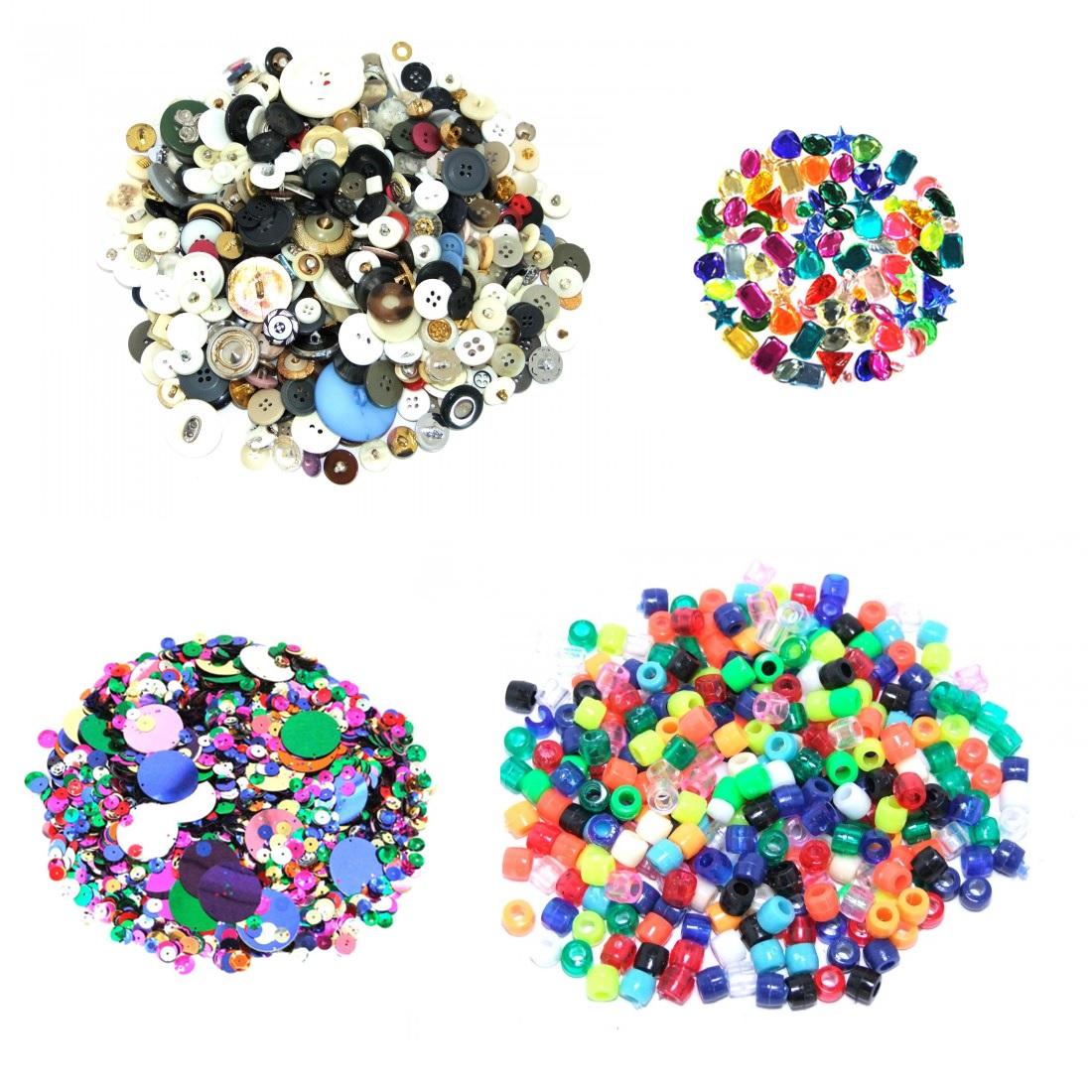Sequins, Beads & Buttons