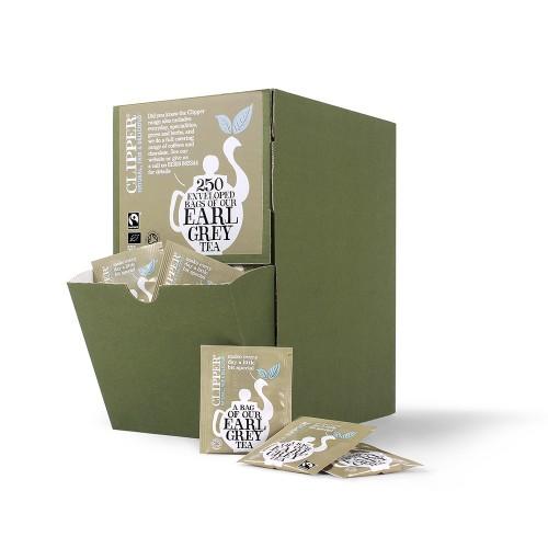 Clipper Earl Grey Fairtrade Envelope Tea Bags - Pack 250