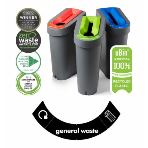Eco Bin - General Waste (Black Insert)