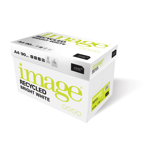 Image A3 90gsm 100% Recycled closed loop Bright White paper