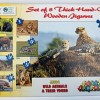 Wild Animals + Their Young Puzzle - Set of 8