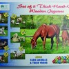 Farm Animals+ Their Young Puzzle - Set of 8