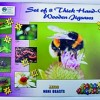 Mini Beasts - Insects Puzzle - Set of 8
