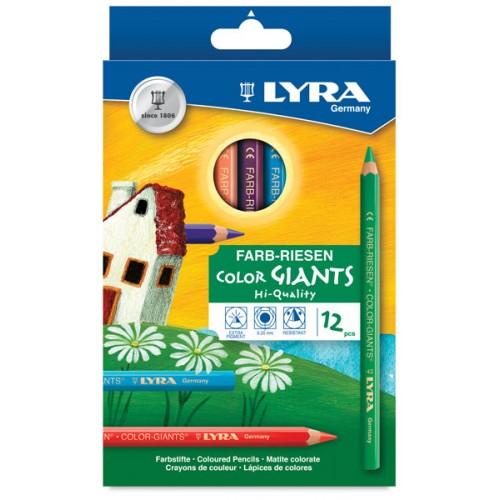Lyra Colour Giants Pencils - Hangpack