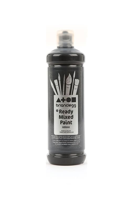 Black Ready Mixed 600ml Paint
