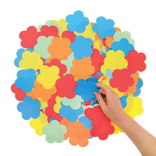 Die Cut Paper Flowers
