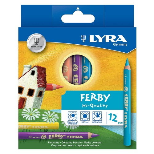Lyra Ferby Lacquered Colouring Pencil - Hangpack