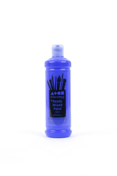 Brilliant Blue Ready Mixed 600ml Paint