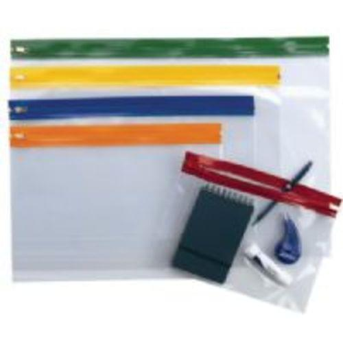 Zip Wallet A3 Assorted Colours Pack 25