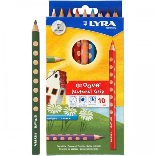 Lyra Groove Colouring Pencils - Hangpack