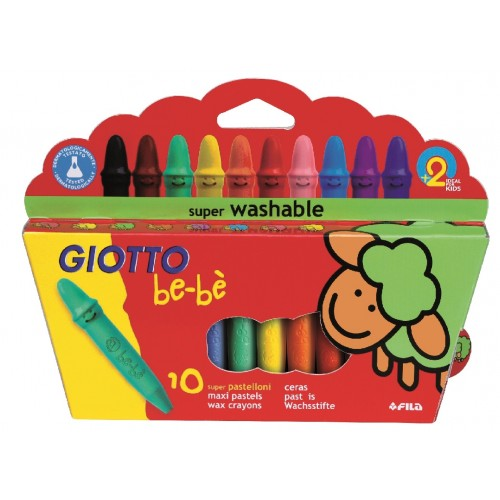 Giotto be-be Large Crayons