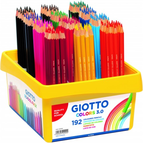 Giotto Colours 3.0 Colouring Pencils - Schoolpack