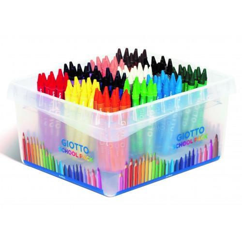 Giotto Cera Wax Crayons - Classpack