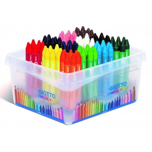 Giotto Cera Maxi Wax Crayons - Classpack