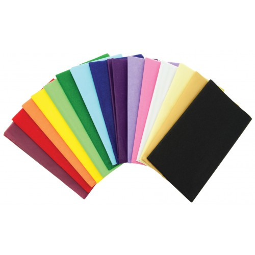 Super Value Tissue Paper - Red 10 Sheets