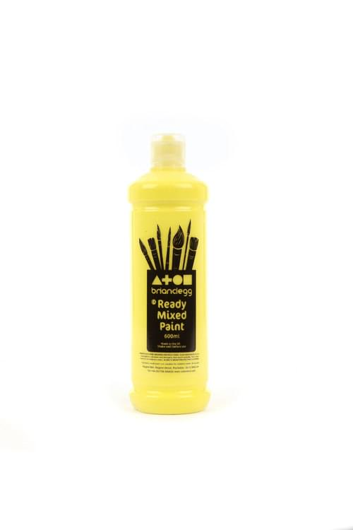 Lemon Ready Mixed 600ml Paint
