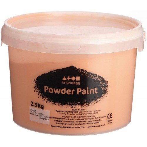Powder Paint - Orange