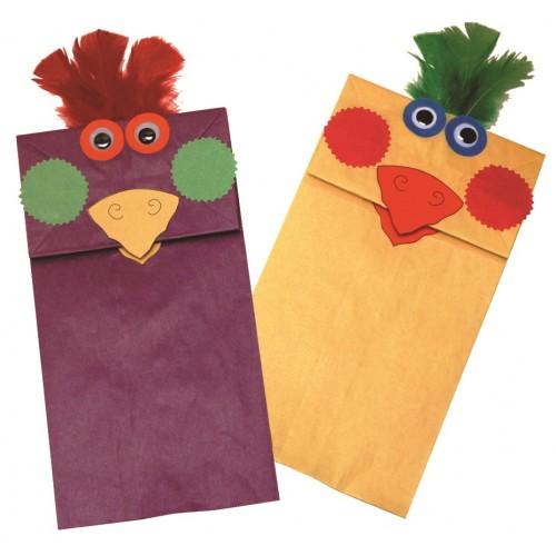 Rainbow Craft Bags