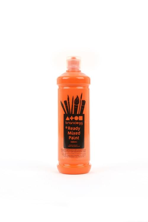 Orange Ready Mixed 600ml Paint
