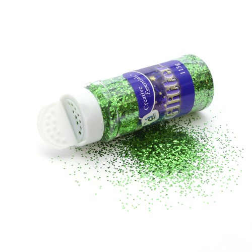 Super Value Glitter - 250g Green
