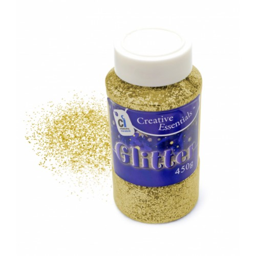 Super Value Glitter - 450g Gold