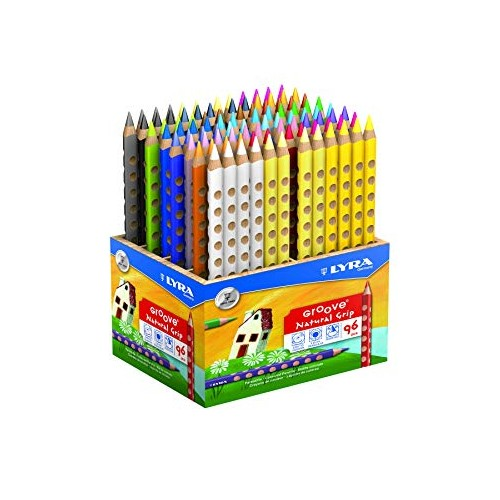 Lyra Groove Colouring Pencils - Wooden Display