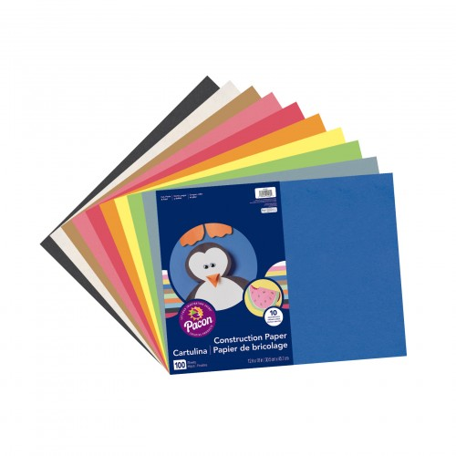 Super Value Construction Paper - A3 + Assorted