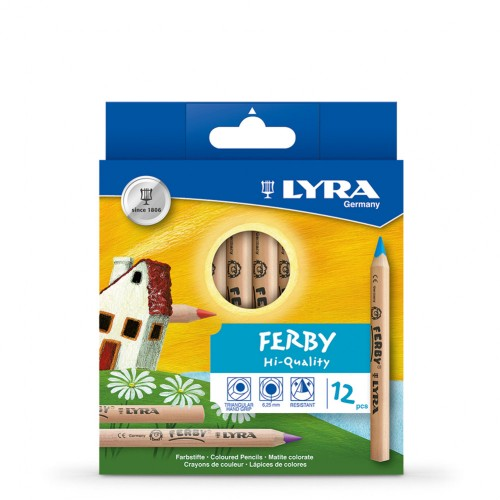 Lyra Ferby Nature Colouring Pencils - Hangpack