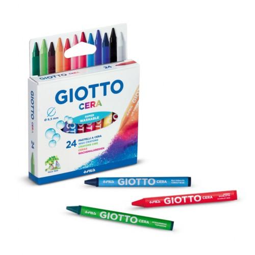 Giotto Cera Wax Crayons - Hangpack