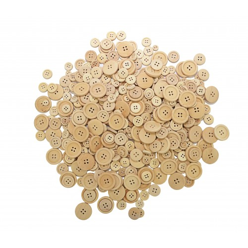 Plain Wooden Buttons