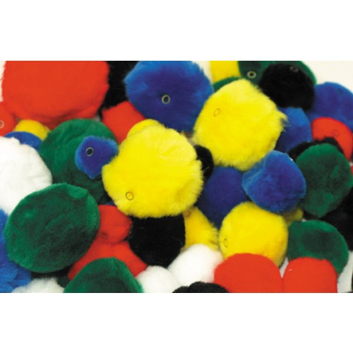Threadable Pom Poms