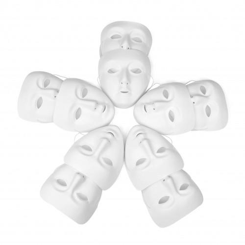 White Face Masks