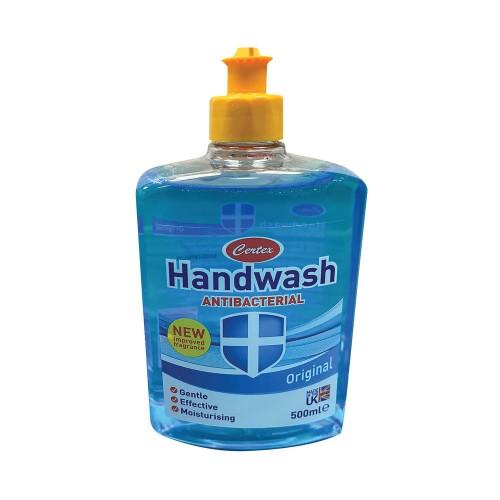 Certex Anti Bacterial Hand Wash Original 500ml TOCER001