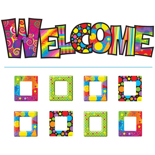 Razzle Dazzle Welcome Bulletin Board Set