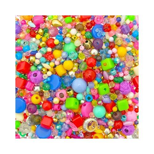 Assorted Plastic Beads Assortment