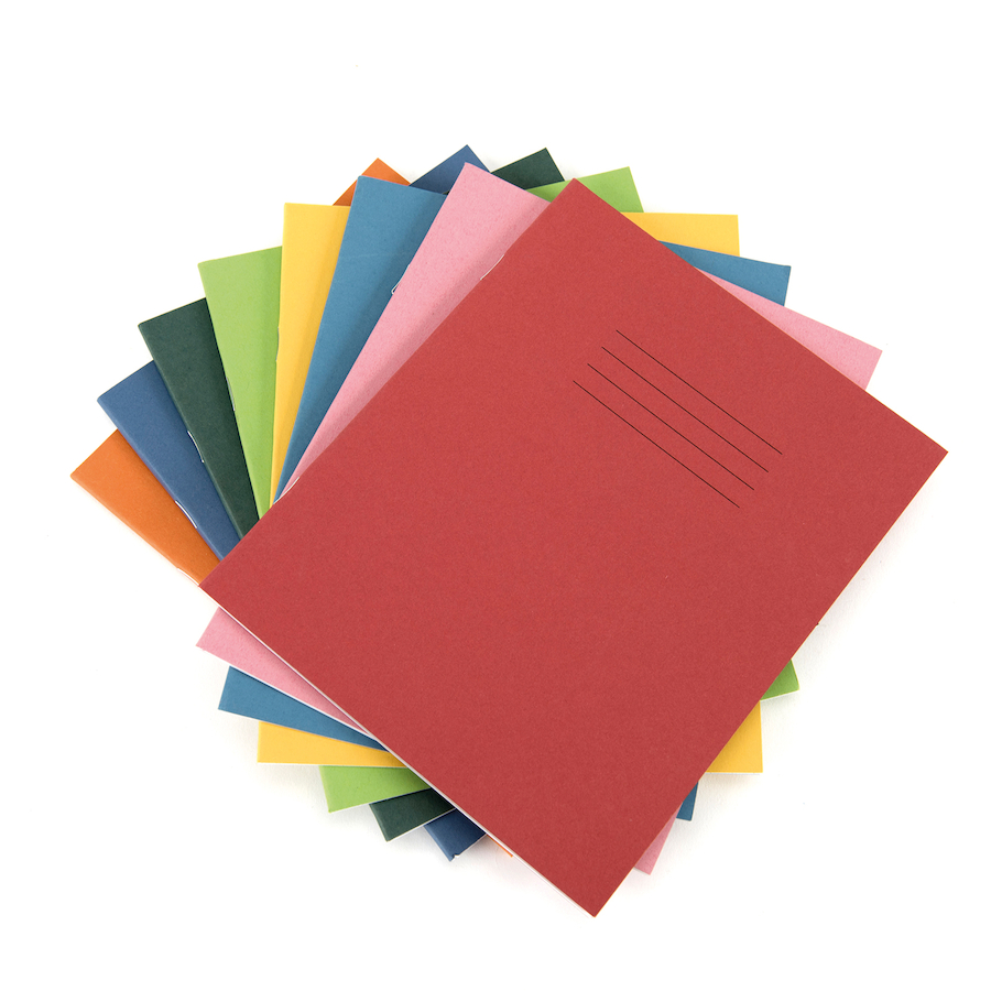 "8""x 6.5"" Exercise Books"
